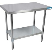 "Stainless 30"" Work Table w/ CASTERS"