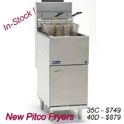 New 40 Lb Fryer - Imperial