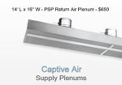 14' Return Air Plenum