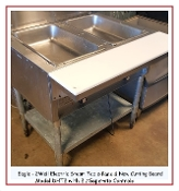 2 Well Steam Table