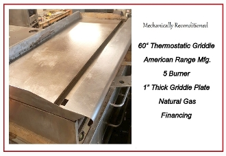"60"" Thermostatic Grill"