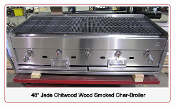 "48"" Smoker Grill Char-Broiler Jade Chitwood"