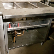 3 Well Steam Table GAS
